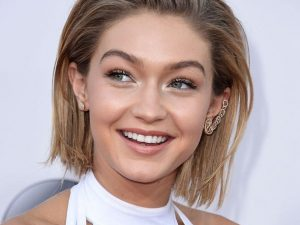 6 best hairstyles of Victoria's Secret Gigi Hadid