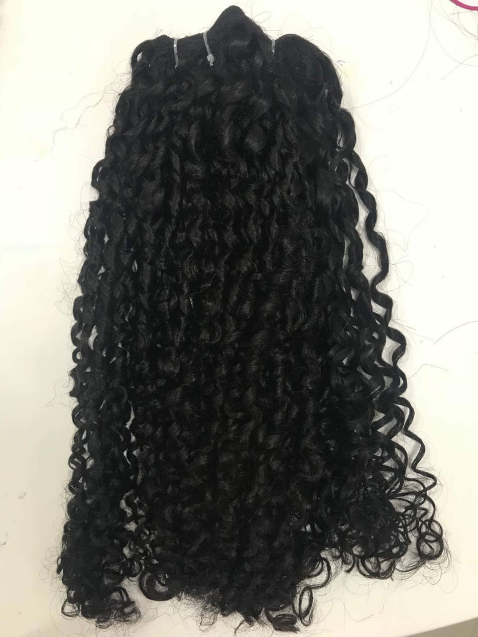 20 Inches Curly Weave Hair Vietnamese Hair Extensions