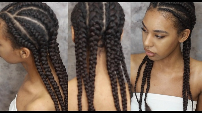 01 Braiding With Human Hair