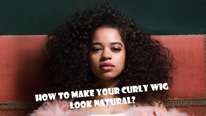 01 Curly Wig