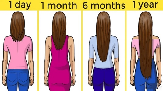 02 6 Inch Of Hair In 6 Months
