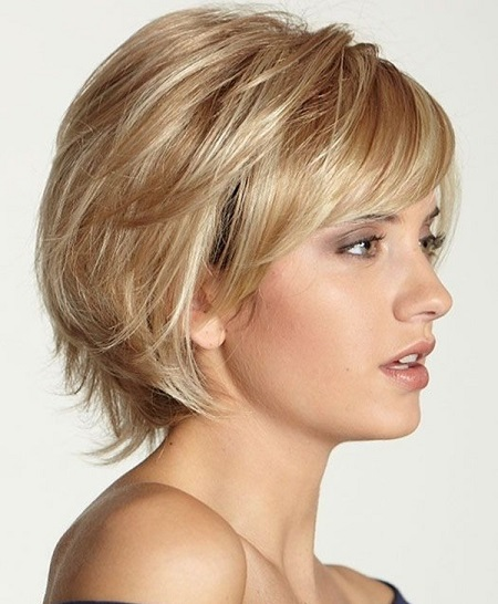02 Short Wig For Round Face