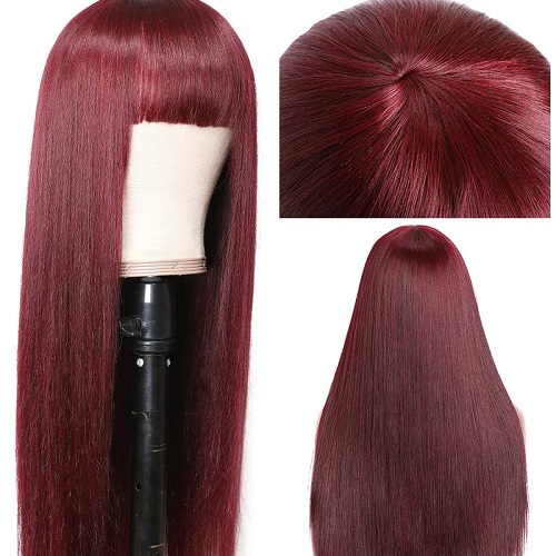05 Red Lace Front Wig