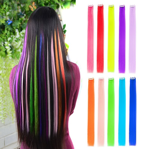 02 Colored hair Extensions