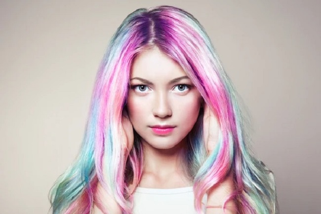 01 Colored Hair Extensions