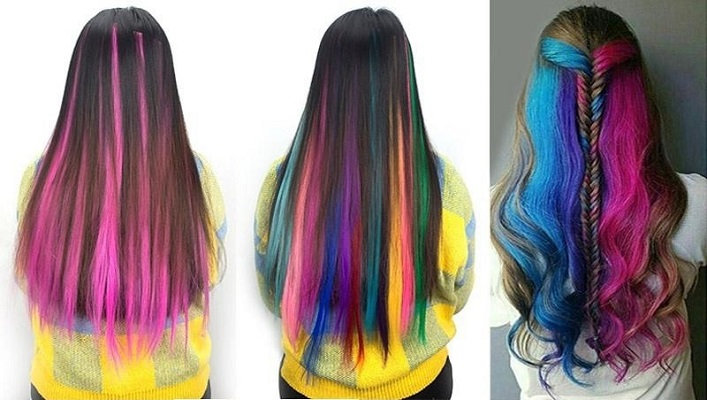 03 Colored Hair Extensions